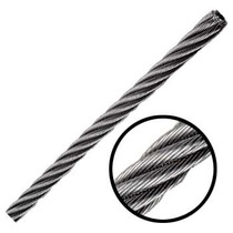 Cable 6x26 3/8 Y 500 Metros Alma De Acero Independiente Obi