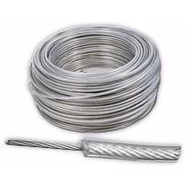 Cable De Acero Con Pvc 7x7 3/16-1/4 Pulgadas Y 75 Metros