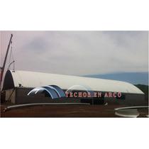 Arcotecho,techos En Arco,techos Sin Estructura,estructuras M