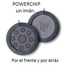 Nikken Imán Para Terapia Magnética Powerchip Negro P Dolores