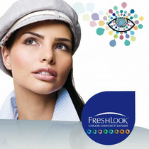 Pupilentes Fresh Look Colorblends Originales Duracion 1 Año