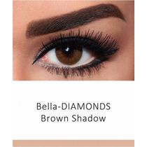 Lentes De Contacto Bella Diamonds Brown Shadow Muy Natural