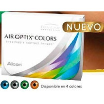 Pupilentes Freshlook Air Optix Colors Mensuales (de Alcon)