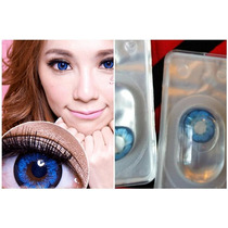 Pupilentes Anime Big Eye Barbie Ojo De Muñeca Circle Lens