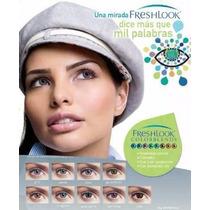 Pupilentes Freshlook, Colores Reales.!! Para 30 Días.