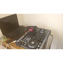Cotrolador Dj American Audio Vmz4 Y Lap Top Comoac 610