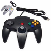 Control Usb Retro N64 O Nintendo 64 Para Pc O Mac Gamepad