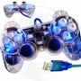 Control Joypad Gamepad Usb 15 Botones 2 Palancas Pc Laptop