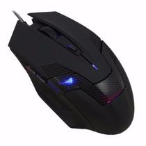 Mouse Optico Alambrico Eagle Warrior Gaming, Drakon 2400 Dpi