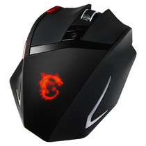 Mouse Msi Interceptor Ds200 Gamer - Negro