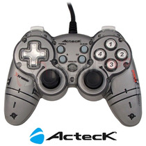 Control Acteck Xtreme Shock Pro Xr Pc Y Ps3 Usb Agj-3350