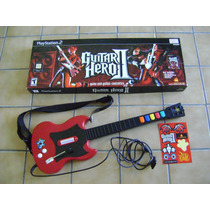 Guitarra P/ Playstation 2 Alambrica Redoctane Seminueva