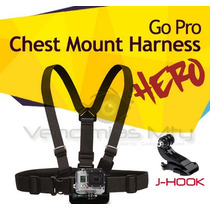 Gopro Arnes Pecho Pechera Chest Adaptador Pole Go Pro 23+acc