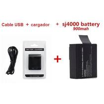 Cargador Y Bateria Camara Sport Cam A8 Sj4000 Sj5000 Sj6000