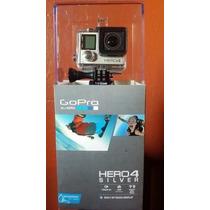 Camara Go Pro Hero 4 Silver Gopro $1.00 Se Va En Lo Ke Kede