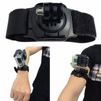 Correa Con Adaptador 360° Para Muñeca Wrist Band Gopro Hero