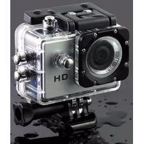 Camara Tipo Go Pro Sumergible 30 Mts 12mp Hd 1080p Accesorio