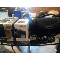 Videocamara Handycam Sony Mini Dvd Dcr-dvd205 Con Maletin