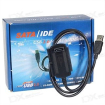 Cable Convertidor De Usb A Discos Duros Sata Ide 2.5 3.5