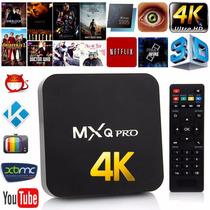 Android Tv Box Mxq Plus 4k A5 Wifi / Tv Gratis Por Internet