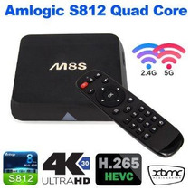 Android Tv Box M8s 4k Ultra Hd