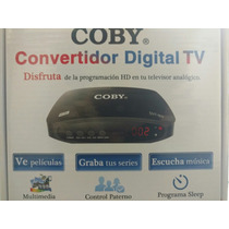 Decodificador Digital Tv Apagon Analógico Usb Dtv 900