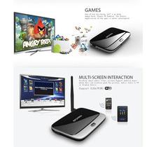 Android Tv Box Smart Tv Hdmi Xbmc Canales Y Peliculas
