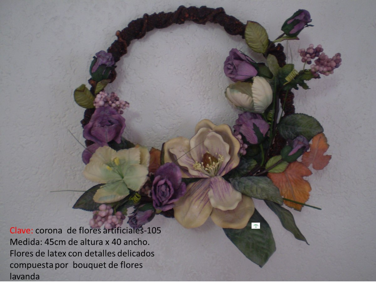 Tinas De Baño Corona:Corona De Flores Mdn – $ 85000 en MercadoLibre