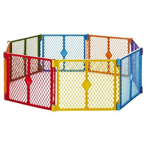 Corral De Seguridad Colores Para Niños Y Mascotas Portátil 8