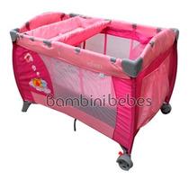 Cuna Corral Infanti Winnie Pooh Sist. De Viaje Bambini Bebes