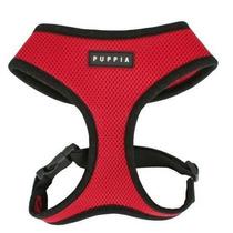 Arnes Perro Puppia Perro Soft Harness Rojo, Medio
