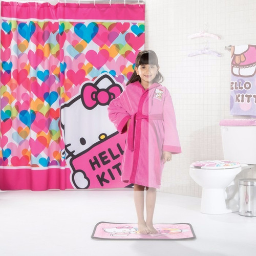 Cortinas De Baño De Kitty:Cortinas De Baño Hello Kitty, Princesas, Op4 – $ 55500 en