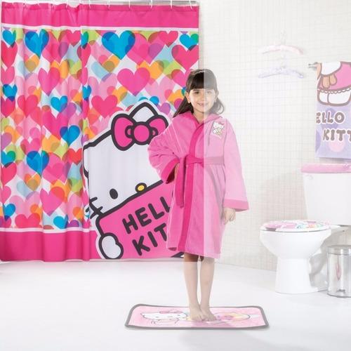 Cortinas De Baño Rosa:Cortinas De Baño Hello Kitty, Princesas, Op4 $ 55500 en
