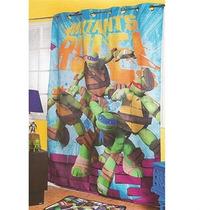 Cortina Infantil Para Recamara Tortugas Ninja