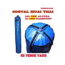 Costal Para Golpeo Muai Thai