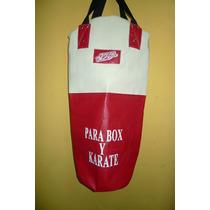 Costal Para Box De Vinil Y Lona. Reforzado Y Remachado. Zepe
