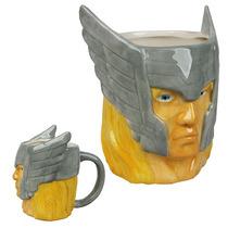Taza De Cabeza De Thor Marvel 4dageek