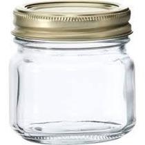 Mason Jar 8oz Liso, Incluye: Tapa Perforado (un Frasco)
