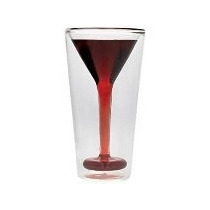 Glasstini Vaso De Vidrio Con Forma De Martini Thumbs Up Uk