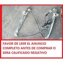 Regulador Elevador Ventana Vidrio Peugeot 206 207 Compact
