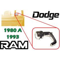 80-93 Dodge Pick Up Ram Seguro Para Aleta Vidrio Izquierdo