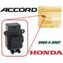 03-07 Honda Accord Control Vidrio Electrico Trasero Derecho