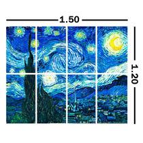 Lienzo En Cuadro (8 Partes). Van Gogh. 120 X 150 Cm
