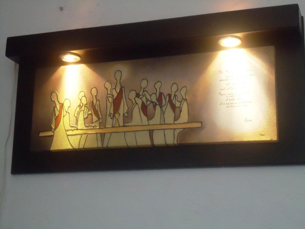 cuadros al leo marco con luz spo 2 en mercadolibre