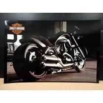 Colección De 7 Posters Imagenes Harley Davidson Motocicleta