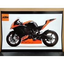 Colección De 6 Posters Imagenes Ktm Motocicleta Sport Enduro