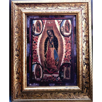 Imagen De La Virgen María De Guadalupe, S. Xviii
