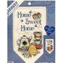 Kit Punto De Cruz Estandarte Home Sweet Home 22x 32 Cm
