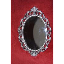 Espejo Tipo Barroco (color Plata Vieja)