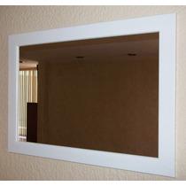 Espejo 70 X 50 Cm, Espejo Varios Colores Con Marco